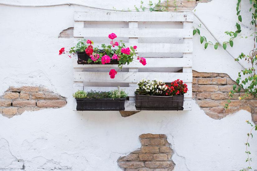 Riciclo fai da te in giardino idee creative per arredare for Fai da te idee per la casa