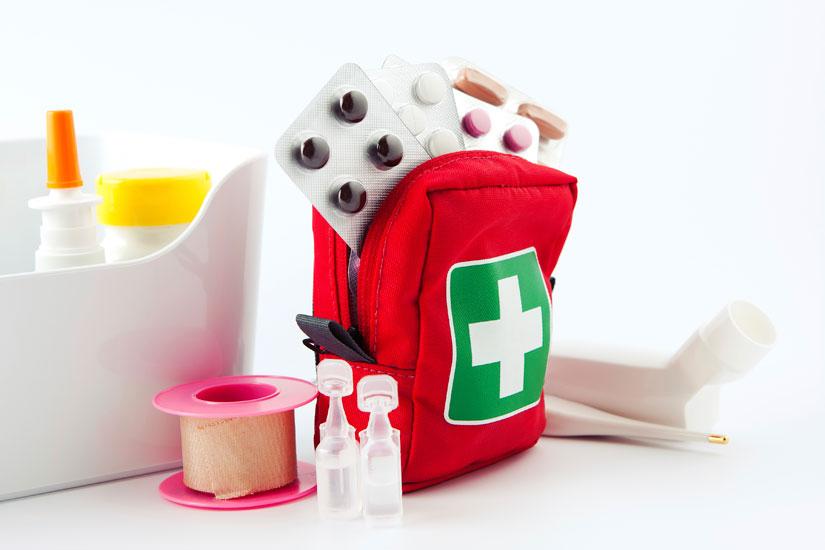 cosa tenere nella cassetta del pronto soccorso? : dr. beckmann blog