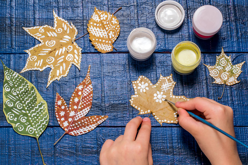 Decorazioni Autunnali Per La Casa : Decorazioni fai da te per la casa lavoretti con le foglie d