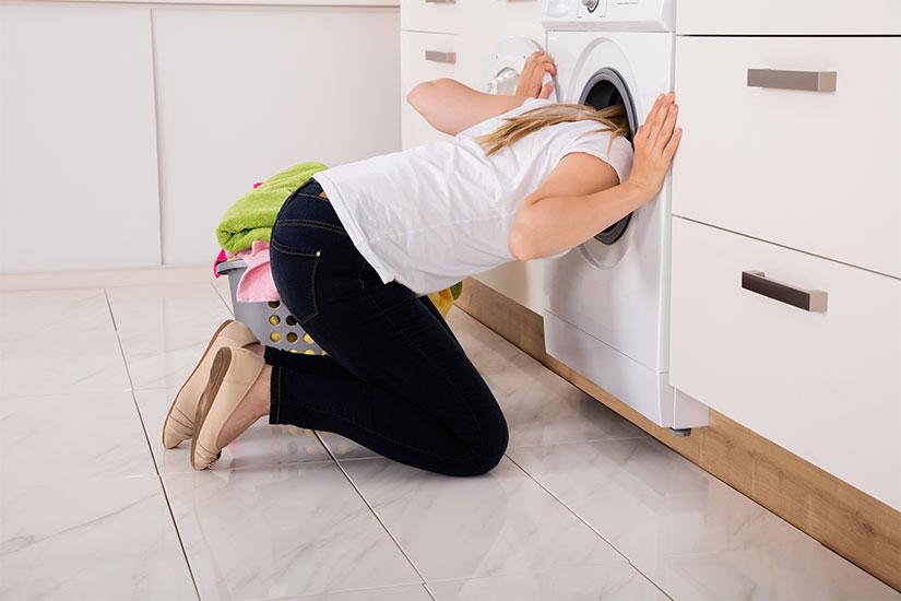 pulire il filtro della lavatrice