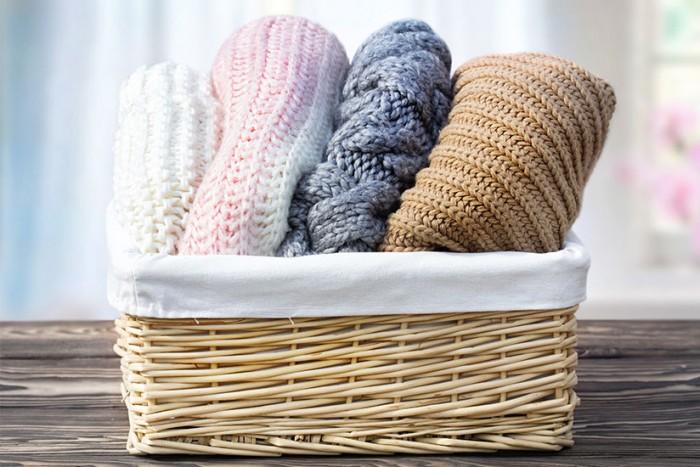 come lavare i maglioni di lana asciugamani