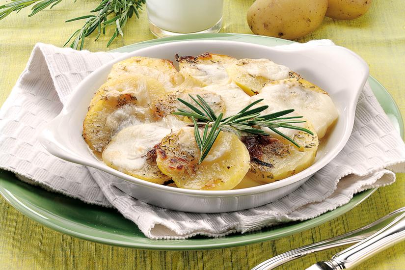 patate al forno con formaggio taleggio