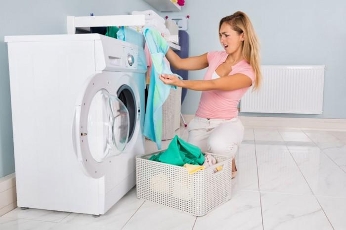 candeggina in lavatrice macchia