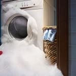Lavatrice guasta: cosa fare quando non scarica l'acqua