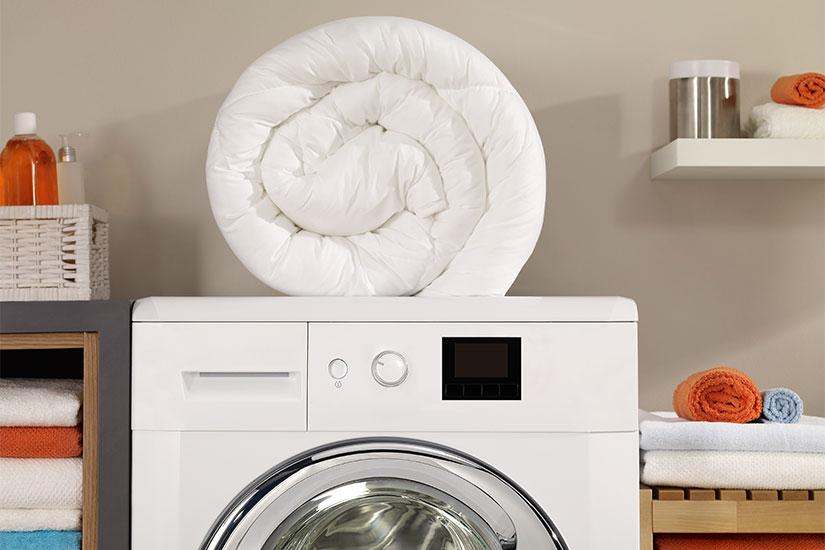 online retailer c644f c59d2 Lavare il piumone in lavatrice: guida facile in 5 passaggi ...