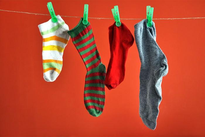 riciclare calzini spaiati