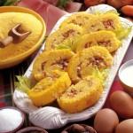 Polenta farcita con verdure e prosciutto: la ricetta gustosa e leggera per tutti