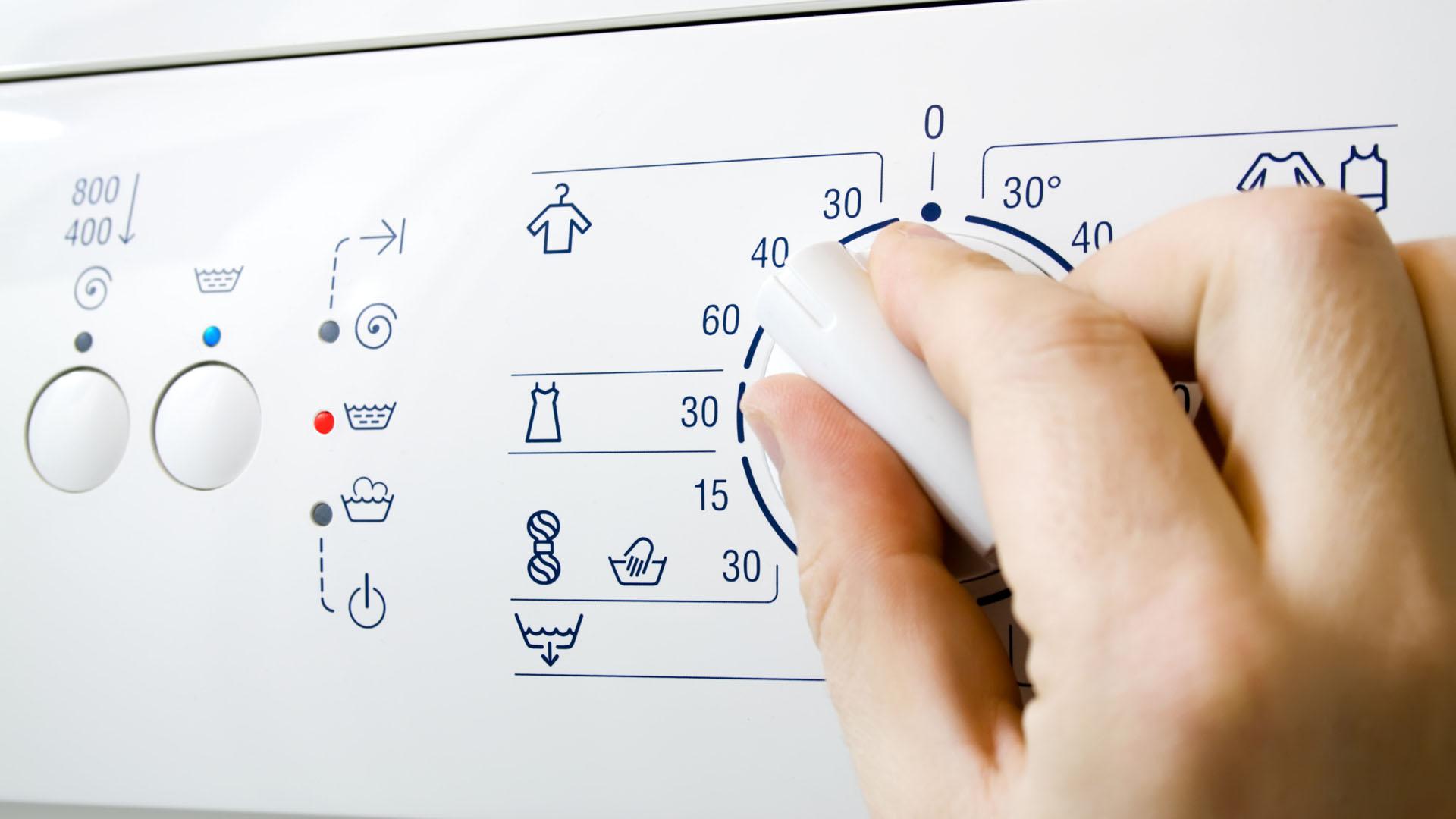 simboli della lavatrice lavaggio