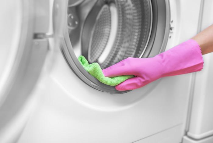 pulire la lavatrice calcare