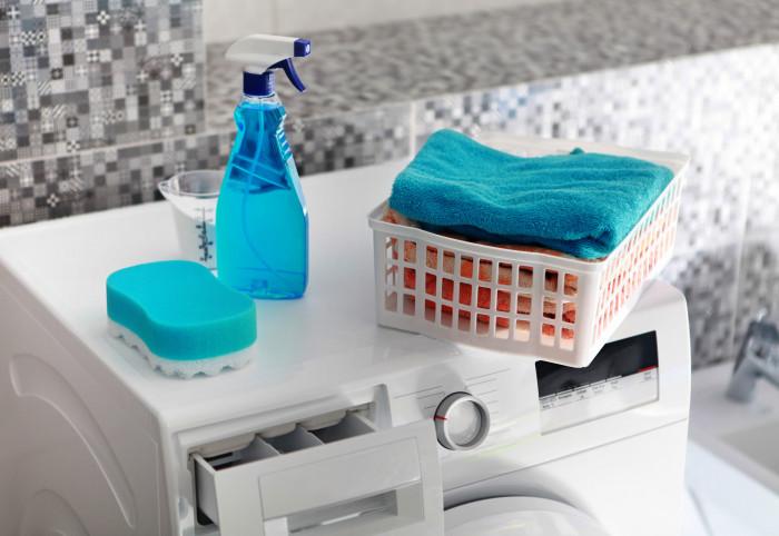 pulire la lavatrice muffa
