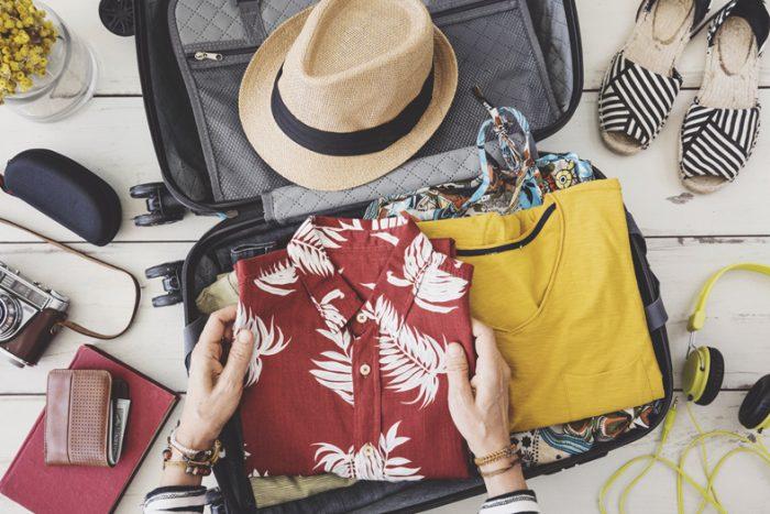 Preparare la valigia per le vacanze