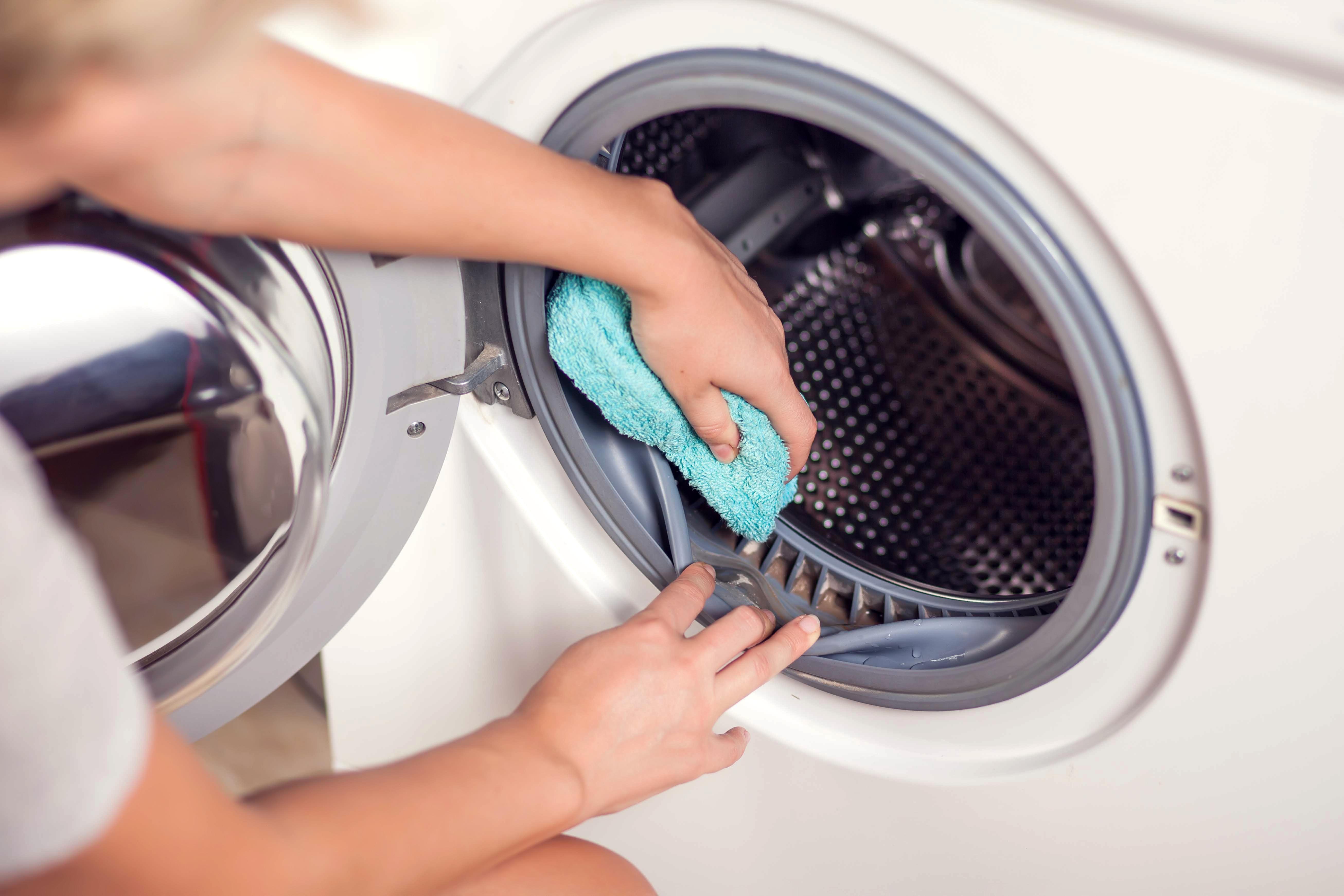pulire e disinfettare la lavatrice
