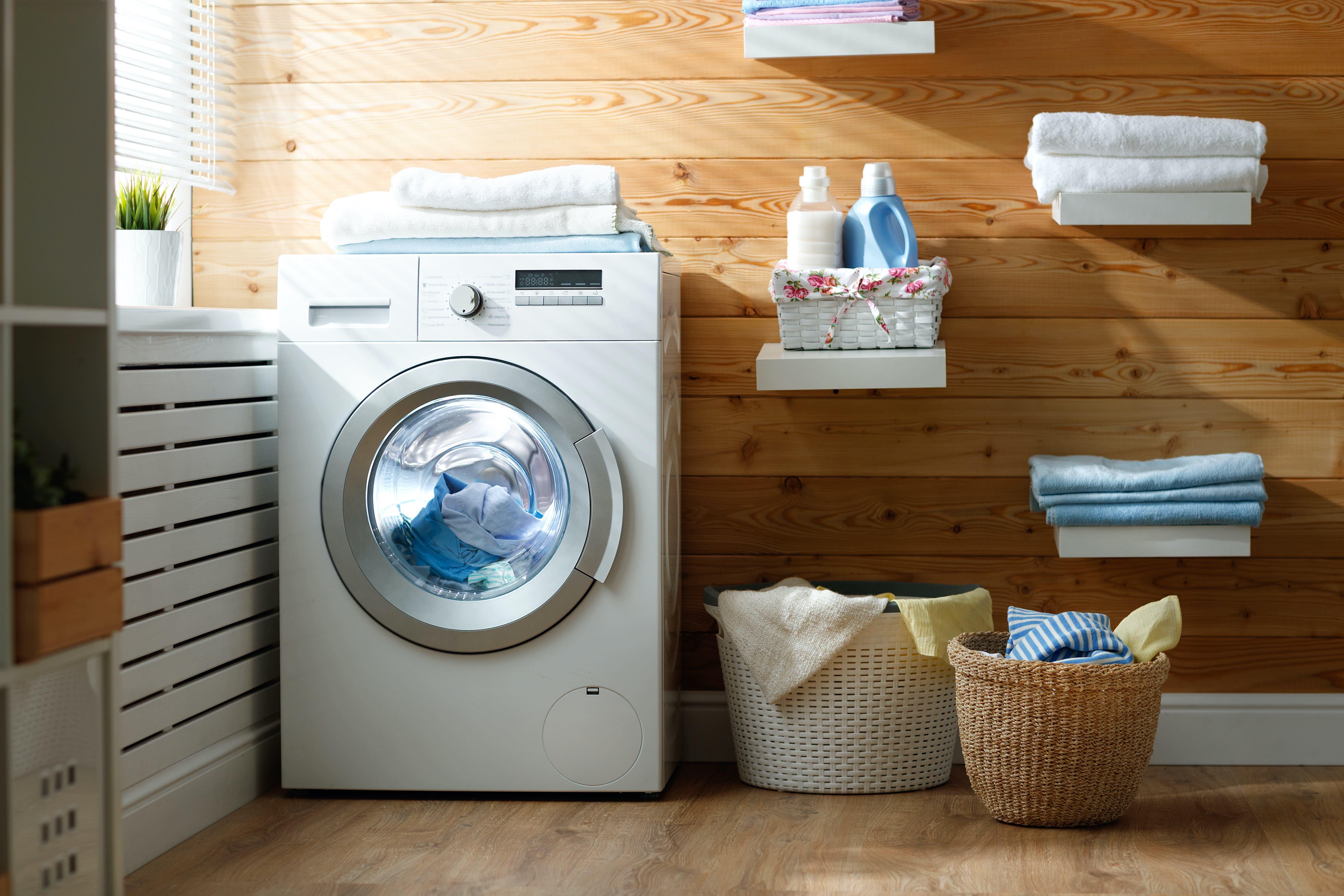 pulire la lavatrice con cura